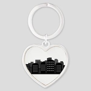 city skyline Keychains