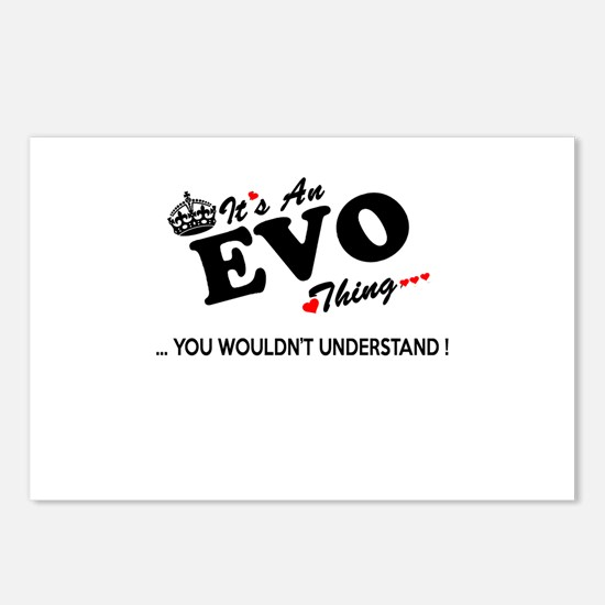 Cute Evo Postcards (Package of 8)