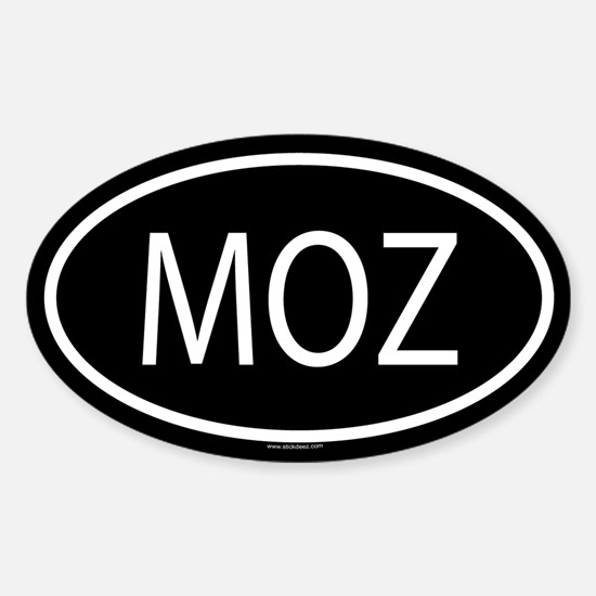 MOZ Oval Decal