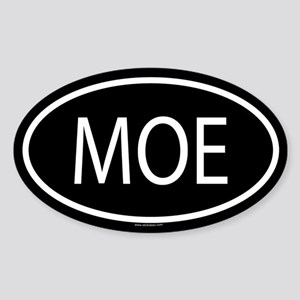 MOE Oval Sticker