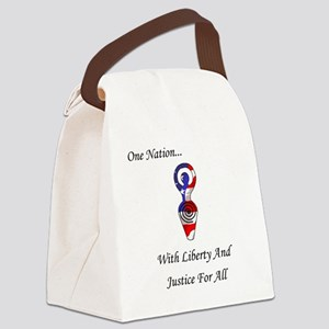 One Nation Goddess Canvas Lunch Bag