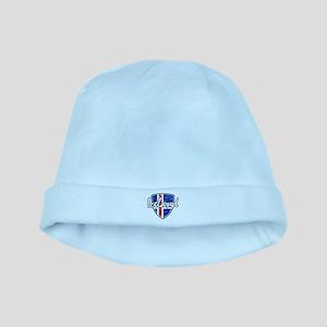 Iceland shield designs baby hat