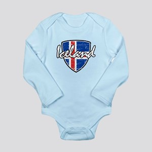 Iceland shield designs Body Suit