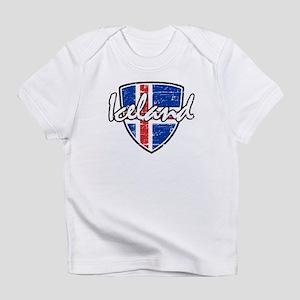 Iceland shield designs Infant T-Shirt