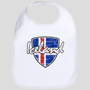 Iceland shield designs Bib