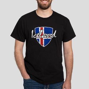 Iceland shield designs T-Shirt