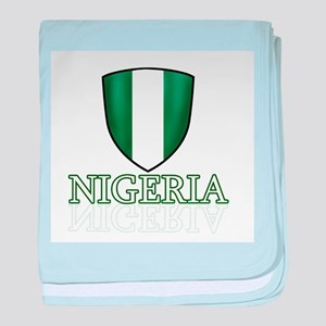 Nigerian shield designs baby blanket