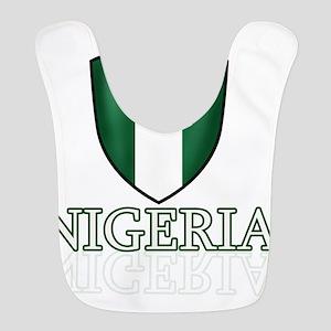 Nigerian shield designs Polyester Baby Bib