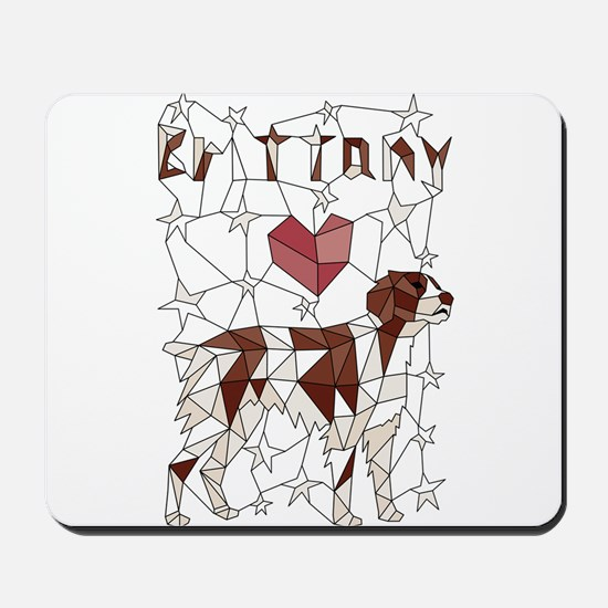 Geometric Brittney Mousepad