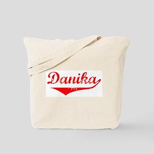 Danika Vintage (Red) Tote Bag