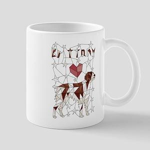 Geometric Brittney Mugs