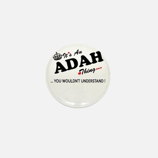Cool Adah Mini Button