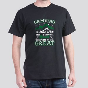 Camping Is Like Sex T-Shirt