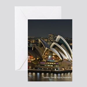 Sidney Opera House Greeting Cards