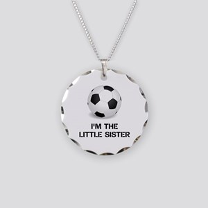 Im the little sister soccer ball Necklace