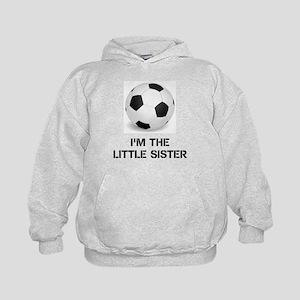 Im the little sister soccer ball Hoodie