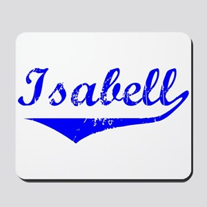 Isabell Vintage (Blue) Mousepad