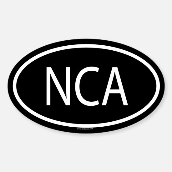 NCA Oval Decal