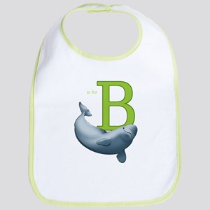 B Is For Beluga Baby Bib