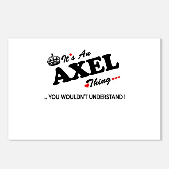 Cute Axel Postcards (Package of 8)
