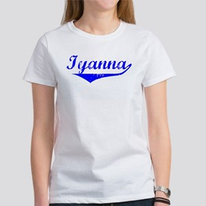 Iyanna Vintage (Blue) Women's T-Shirt