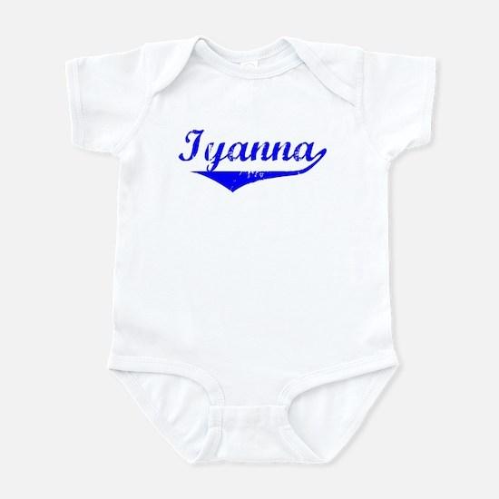 Iyanna Vintage (Blue) Infant Bodysuit