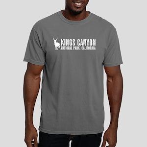 Deer: Kings Canyon, Cali Mens Comfort Colors Shirt