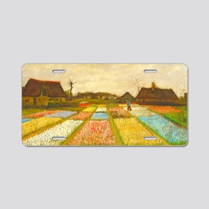 Flower Bed in Holland by Vincent van Gogh Aluminum
