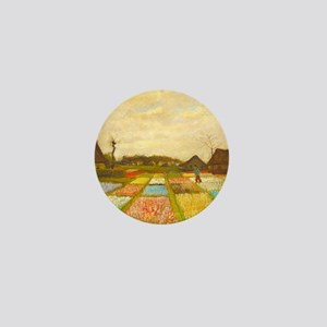 Flower Bed in Holland by Vincent van Gogh Mini But