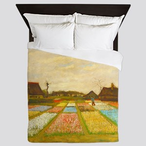 Flower Bed in Holland by Vincent van Gogh Queen Du