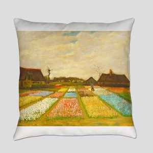 Flower Bed in Holland by Vincent van Gogh Everyday