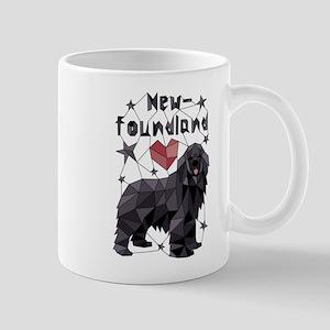 Geometric Newfoundland Mugs