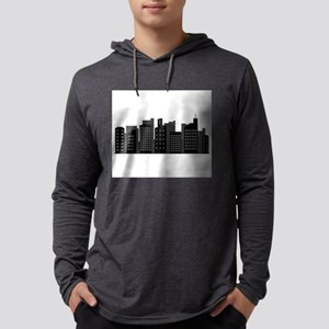 city skyline Long Sleeve T-Shirt