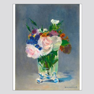 Flowers in a Crystal Vase by Edouard Manet Posters