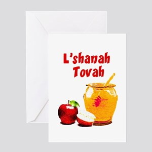 Jewish holiday greeting cards cafepress lshanah tovah greeting cards m4hsunfo