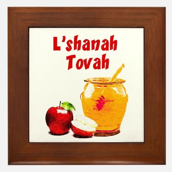L'shanah Tovah Framed Tile