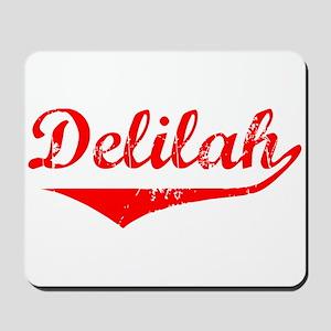 Delilah Vintage (Red) Mousepad