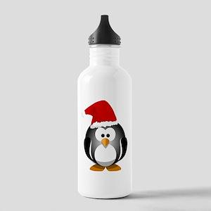 Santa Hat Penguin Stainless Water Bottle 1.0L