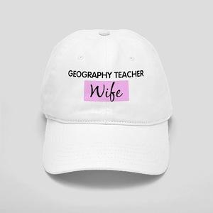 GEOGRAPHY TEACHER Wife Cap