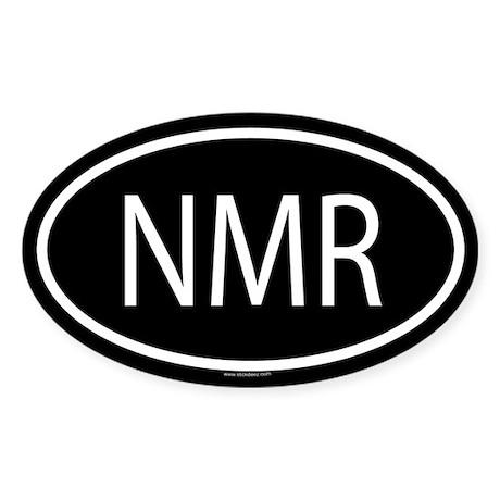 NMR Oval Sticker