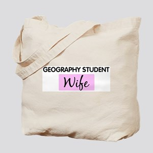 GEOGRAPHY STUDENT Wife Tote Bag