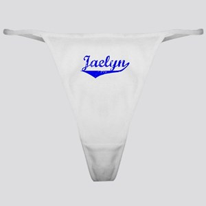 Jaelyn Vintage (Blue) Classic Thong