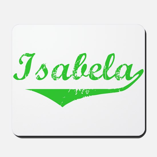 Isabela Vintage (Green) Mousepad