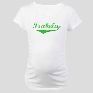Isabela Vintage (Green) Maternity T-Shirt