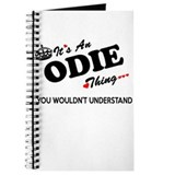 Odie Journals & Spiral Notebooks