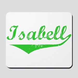 Isabell Vintage (Green) Mousepad