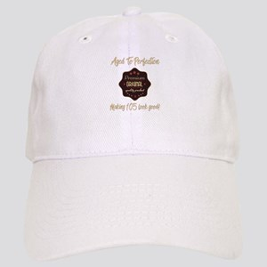 105th Birthday Aged To Perfection Cap