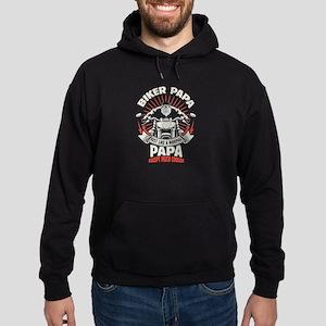 Biker Papa Hoodie