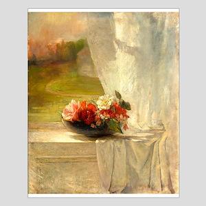 Flowers on a Window Ledge by John La Farge Posters