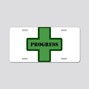 GreenProgress Aluminum License Plate